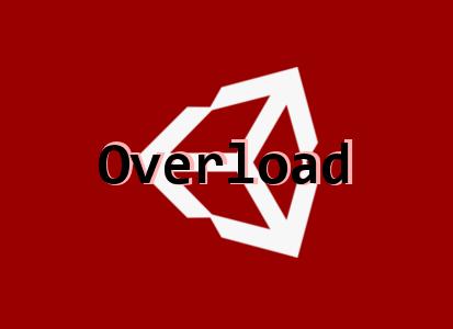Overload   유니티 C# 오버로드 문법 간단한 설명 & 예제
