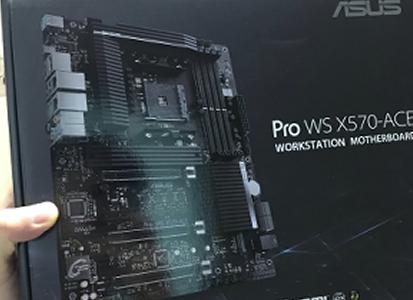 (지름신고) ASUS Pro WS X570-ACE
